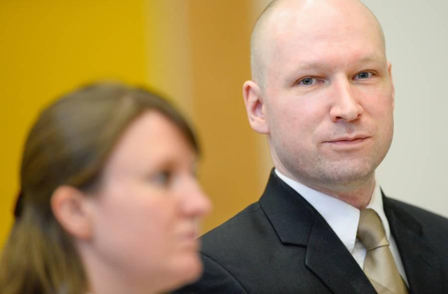 Anders Behring Breivik In Court