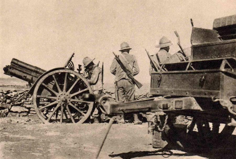 Italians In Ethiopia