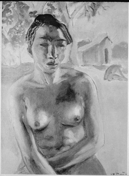 James Porter African Nude