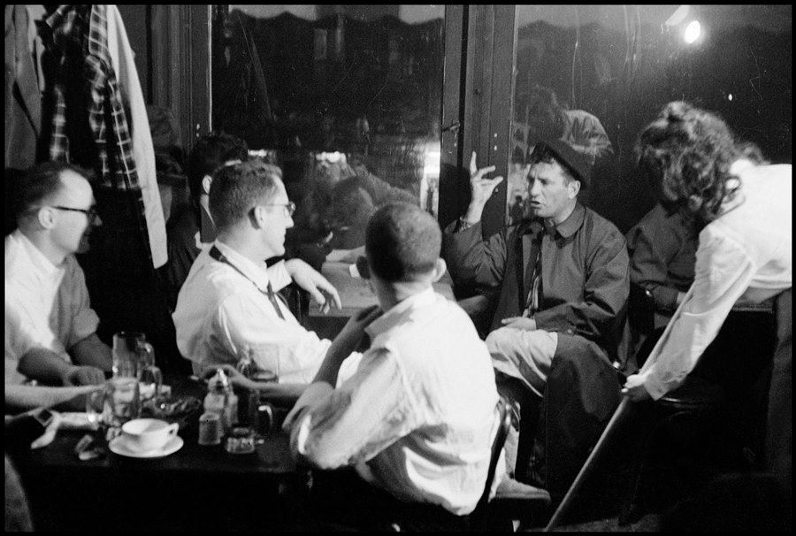 Kerouac Holds Court