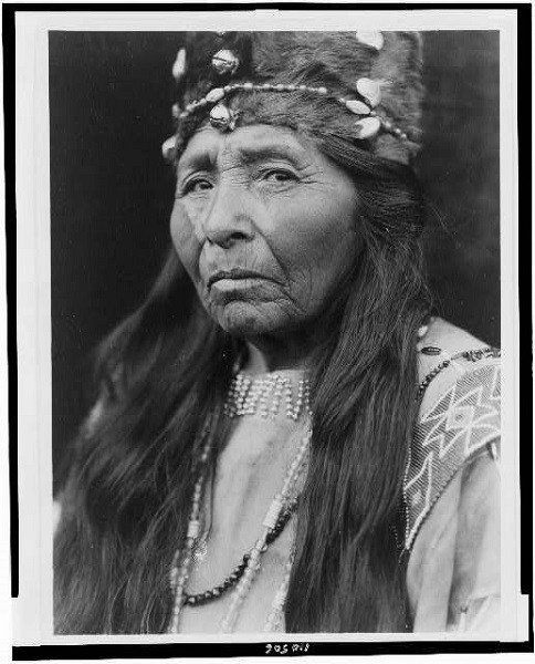 Klamath Woman Portrait