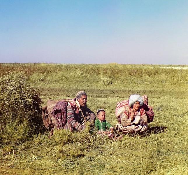 Kyrgyz Family Uzbekistan
