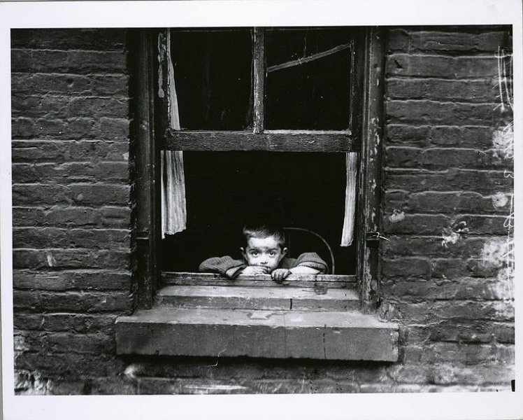 Lewis Hine Tenement Child