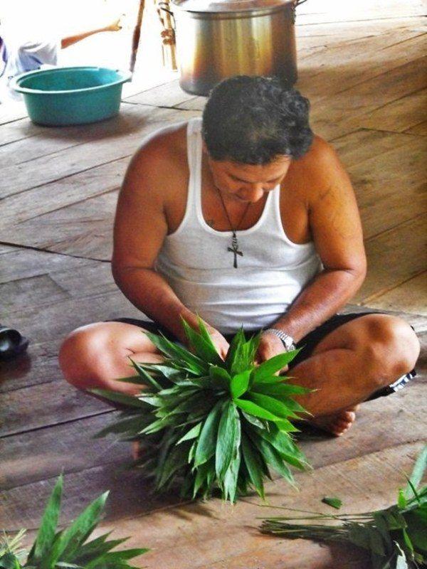 Man Making Chacapas