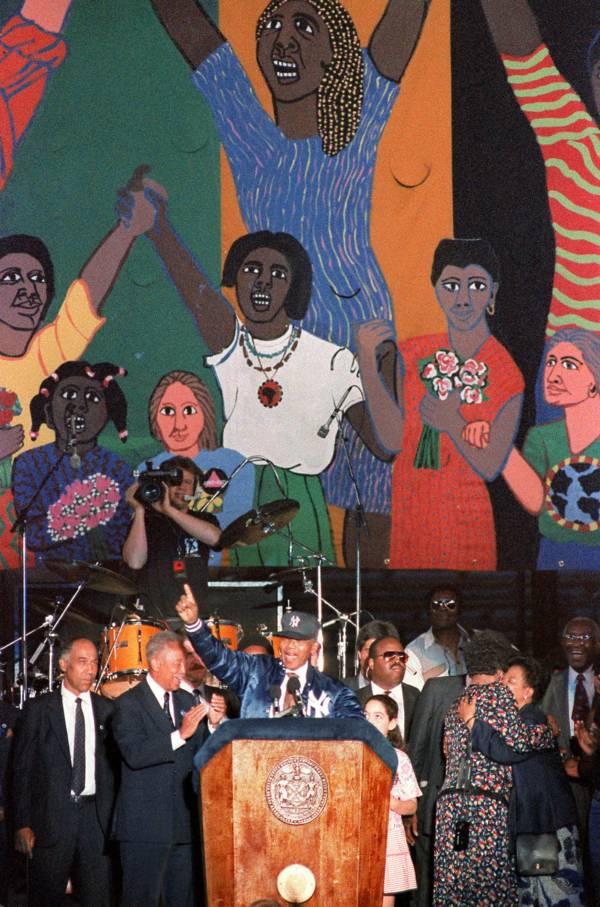 Mandela Visit