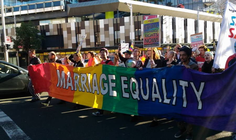 Marriage Equality Protest