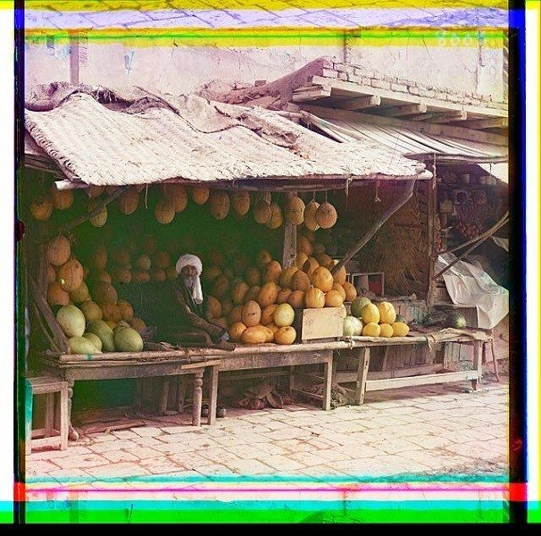 Melon Vendor Samarkand