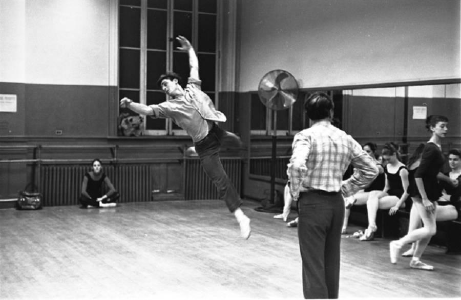 Midsummer Rehearsal Balanchine