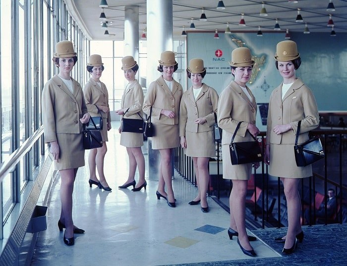 More 1960s Flight Hostesses