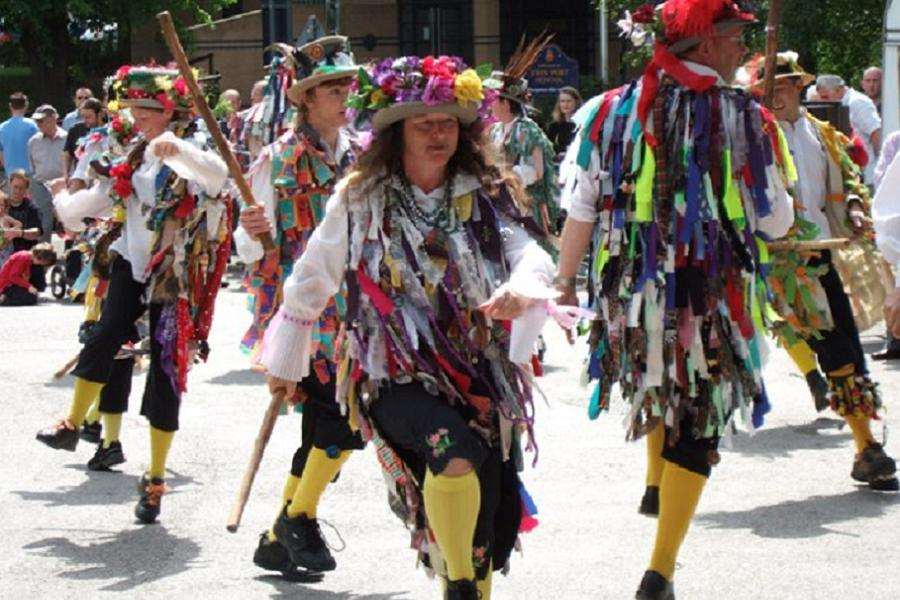 Morris Dancing In Motley