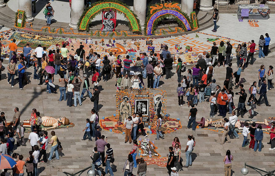 Muertos Day Mexican Plaza