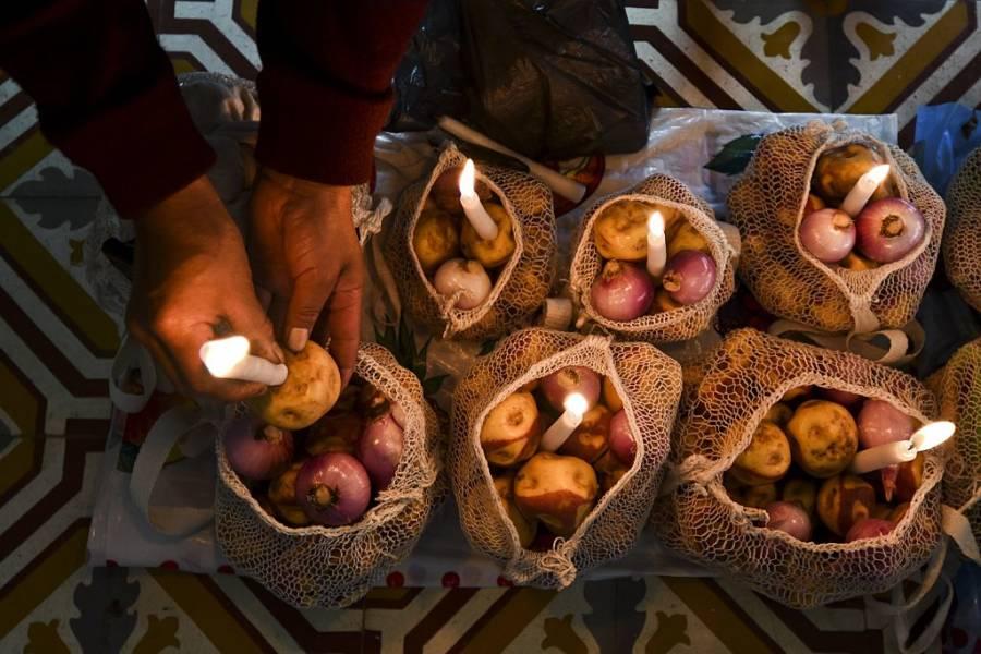 Potato Candles