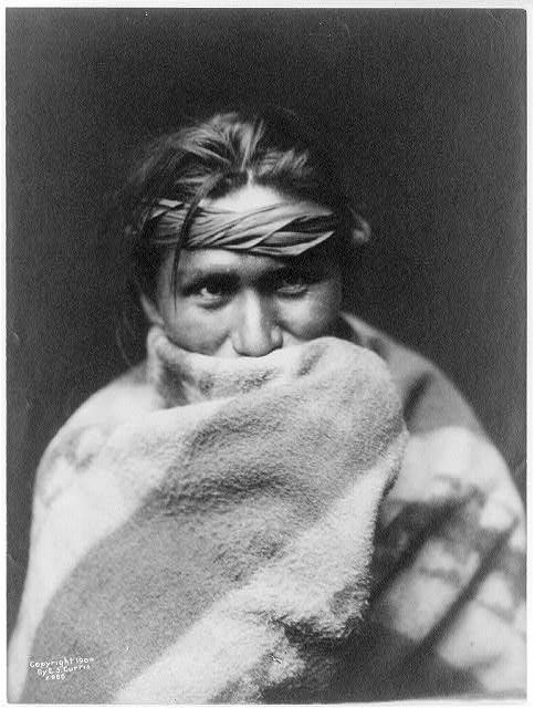 Navajo Man Blanket