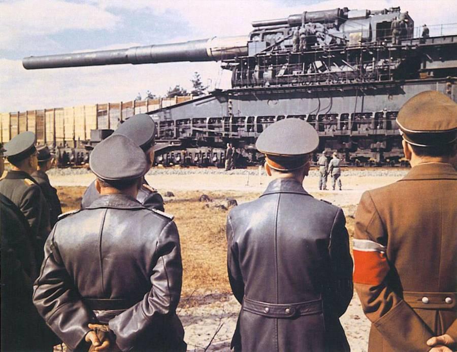 Nazi Weapons Gustav Gun