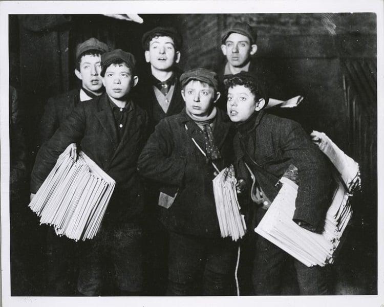 News Boys Brooklyn Bridge