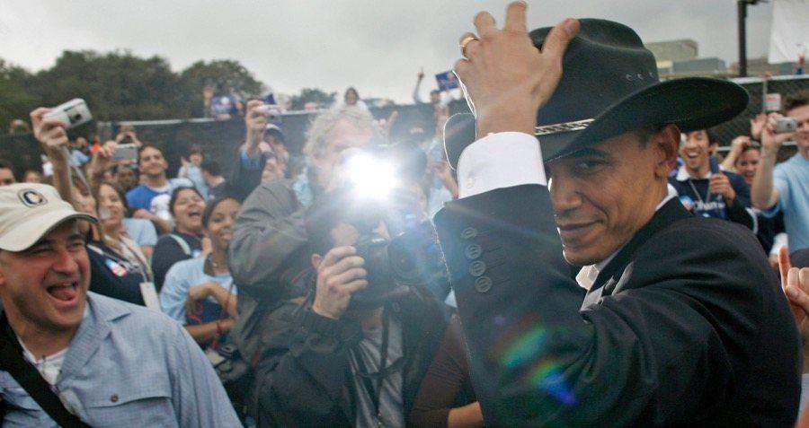 Obama Cowboy Media