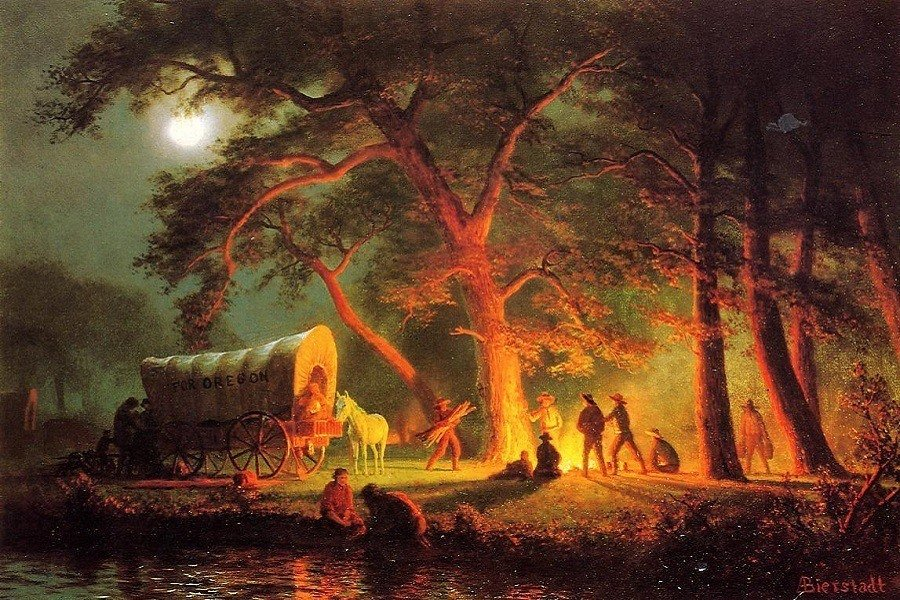 Oregon Trail Bierstadt