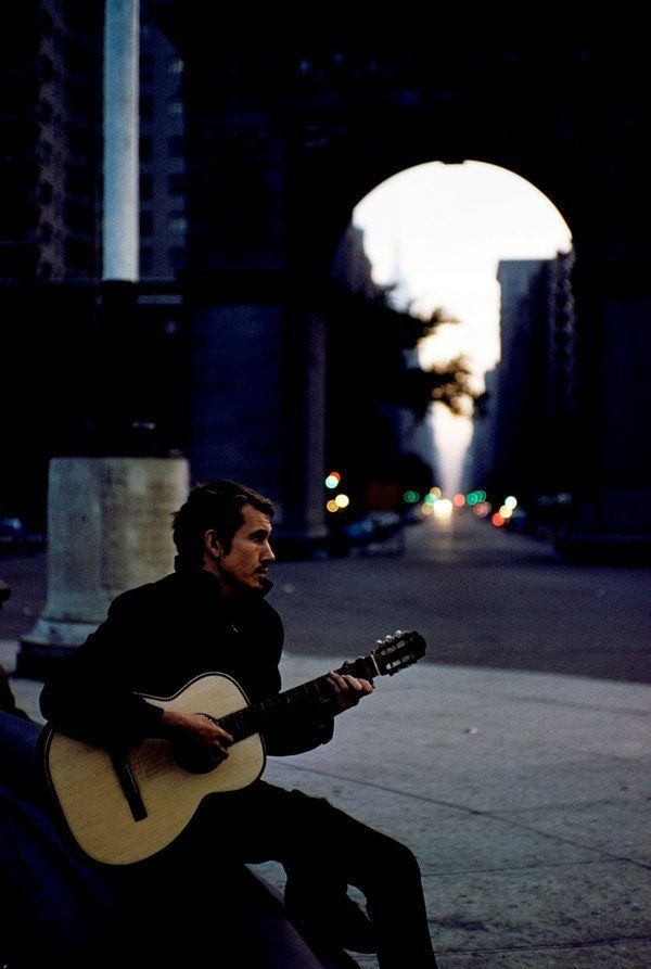 Playing Guitar In Washington Square