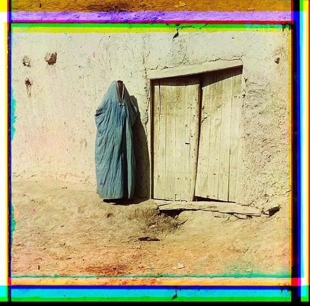 Purdah Woman Samarkand