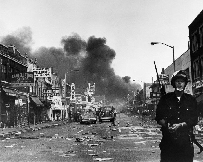 Race Riots In Detroit 1967