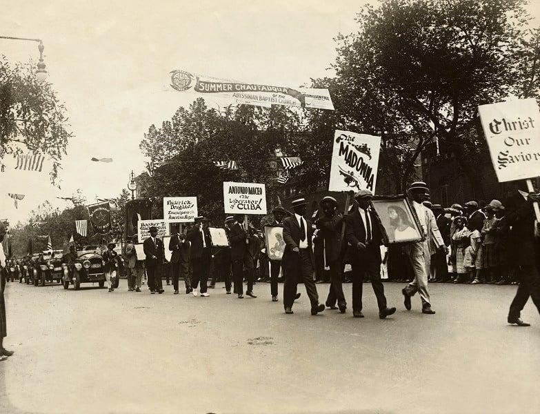 Republic Of Africa Parade 1920