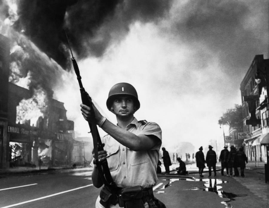 Riot Flames