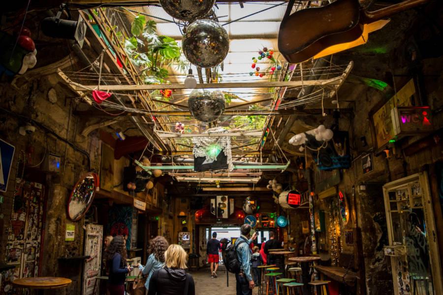 Ruin Bar Interior Daylight