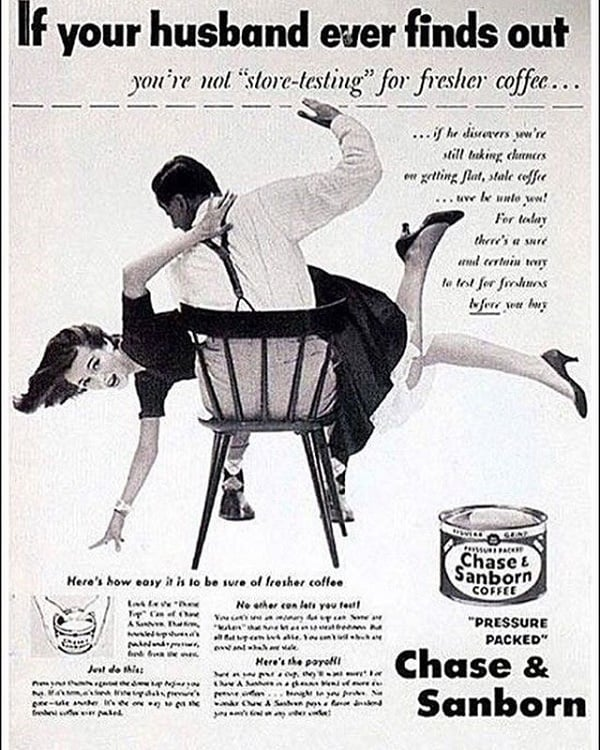 Sexist Ad Promoting Domestic Abuse