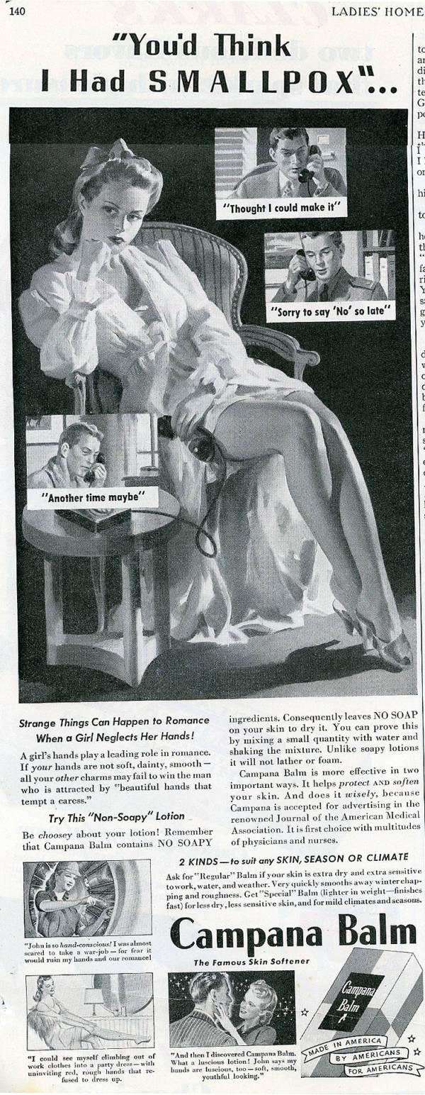 Sexist Ads Campana Balm