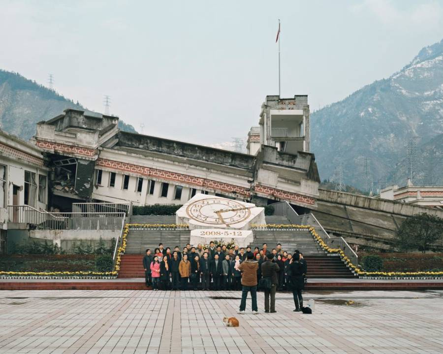 Sichuan Wenchuan Earthquake Ruins China