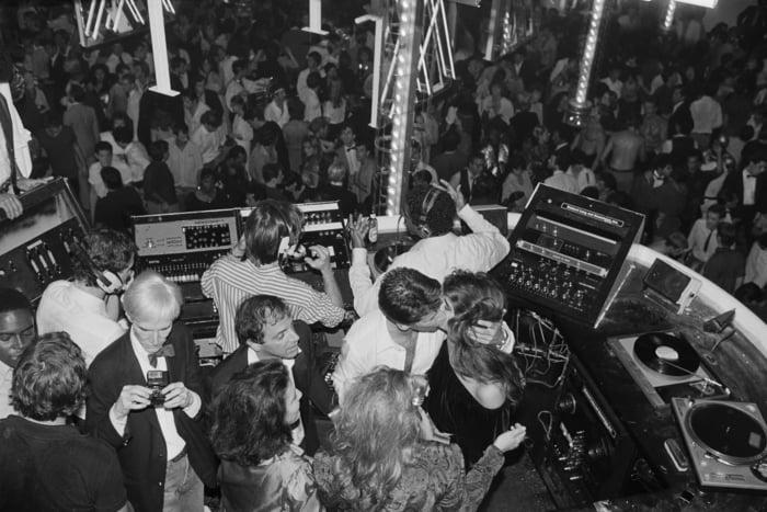 Studio 54 Photos Dancing
