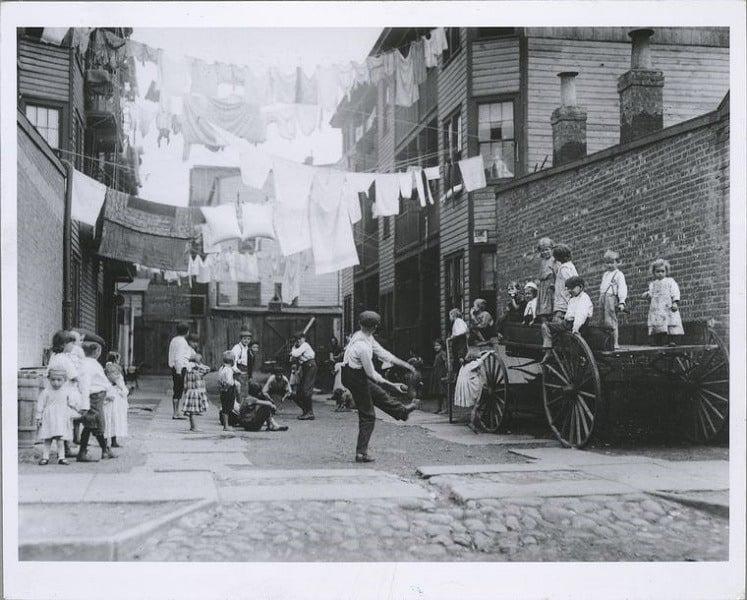 Tenement Playground