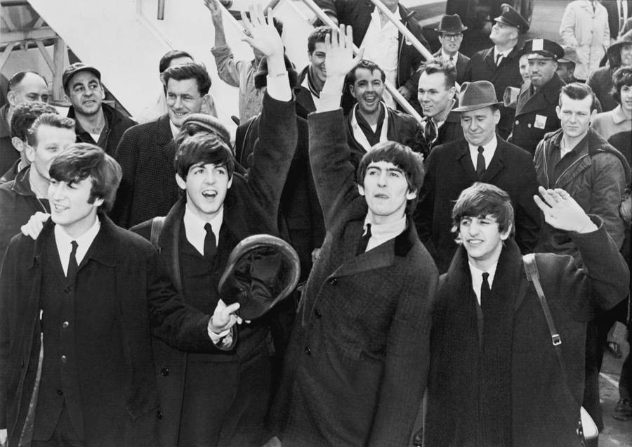 The Beatles Arrive