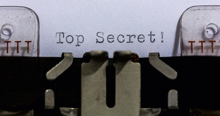 Top Secret Typewriter