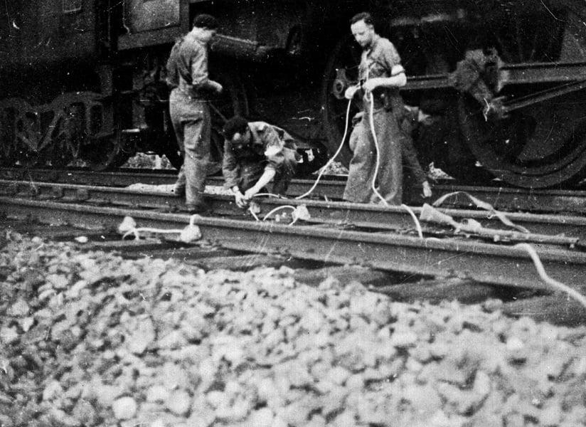 Train Tracks Sabotage