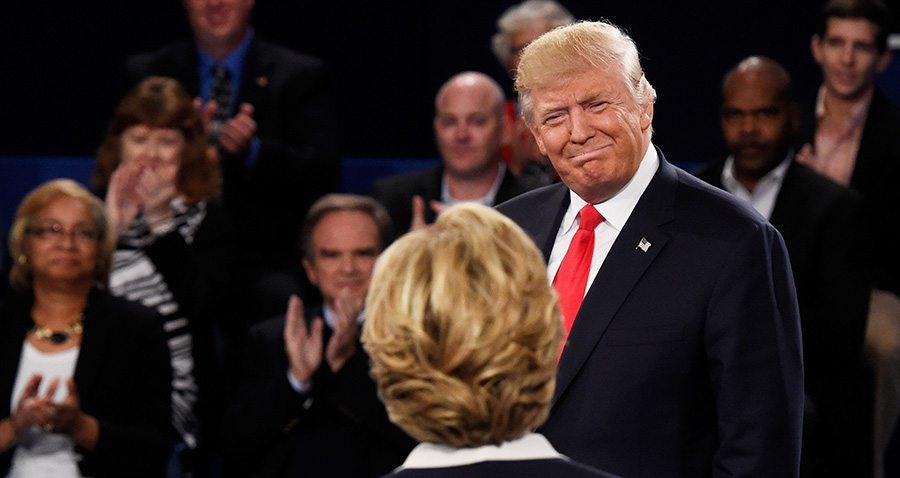 Trump Grin