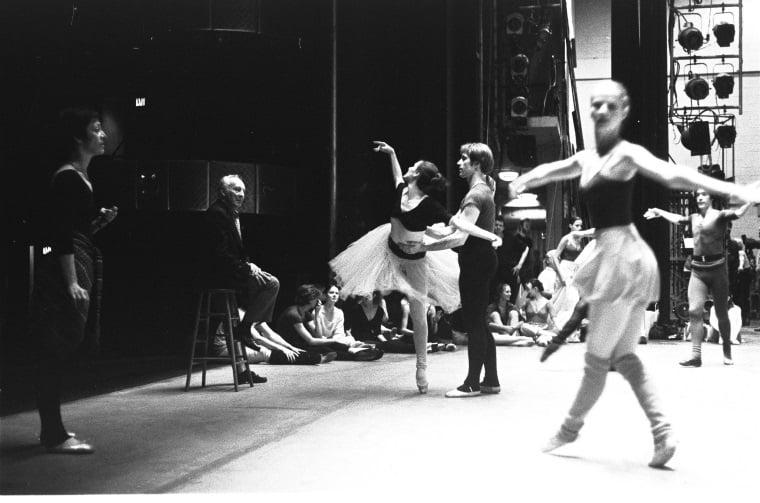 Vienna Waltzes Rehearsal