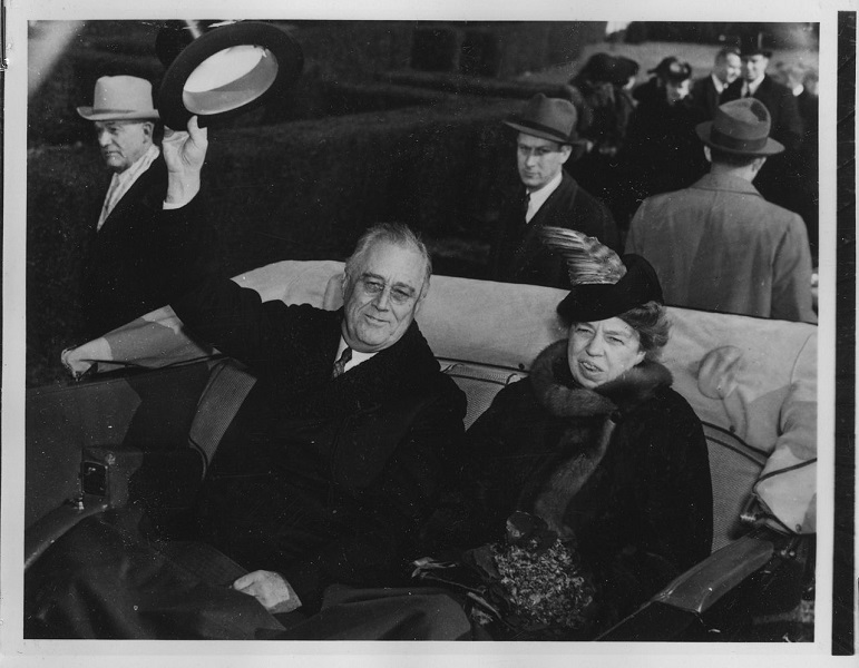 With Fdr 1941