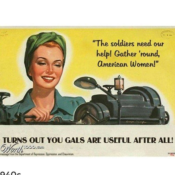 Women Are Actually Useful After All