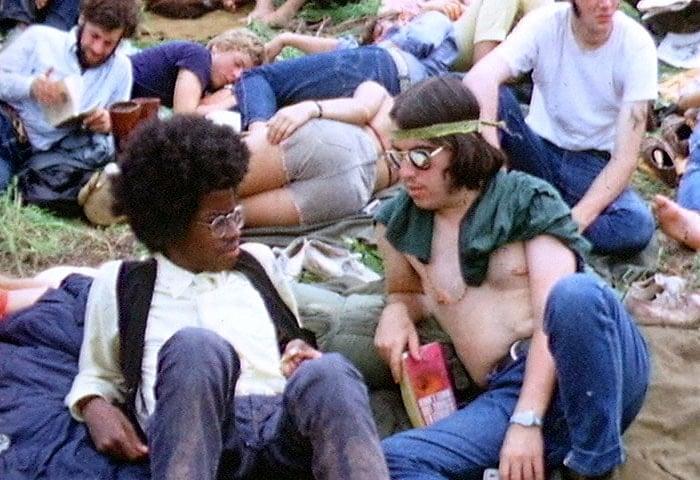 Woodstock Hippies 1969