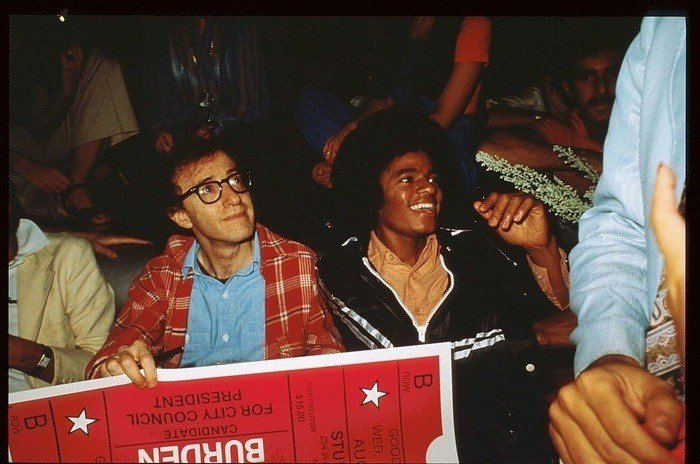 Woody Allen At Studio 54