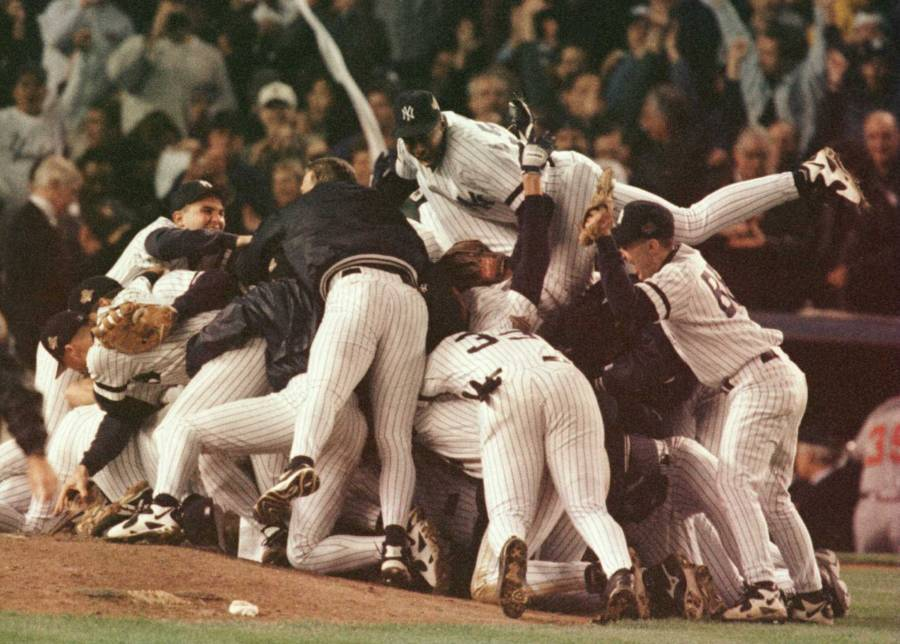 Yankees Celebration