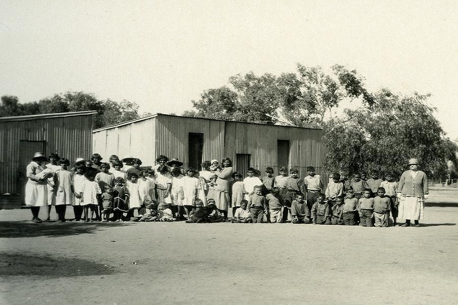 Aborigine Genocide Bungalow School