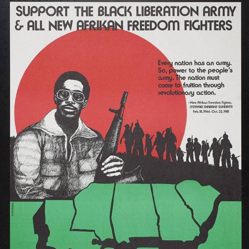 Black Liberation Army Poster