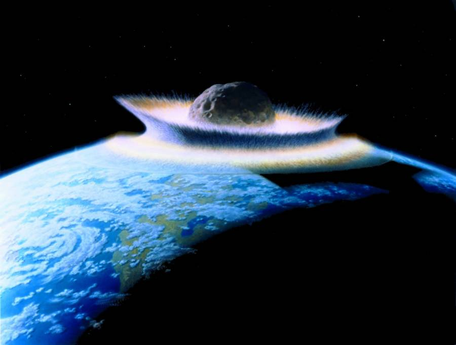 Asteroid Earth Destroyed Copy