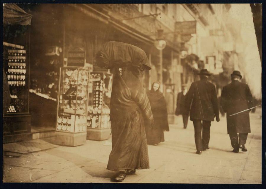 Bowery Woman