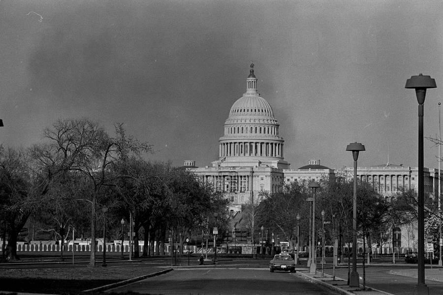 Capitol Smoke Rising