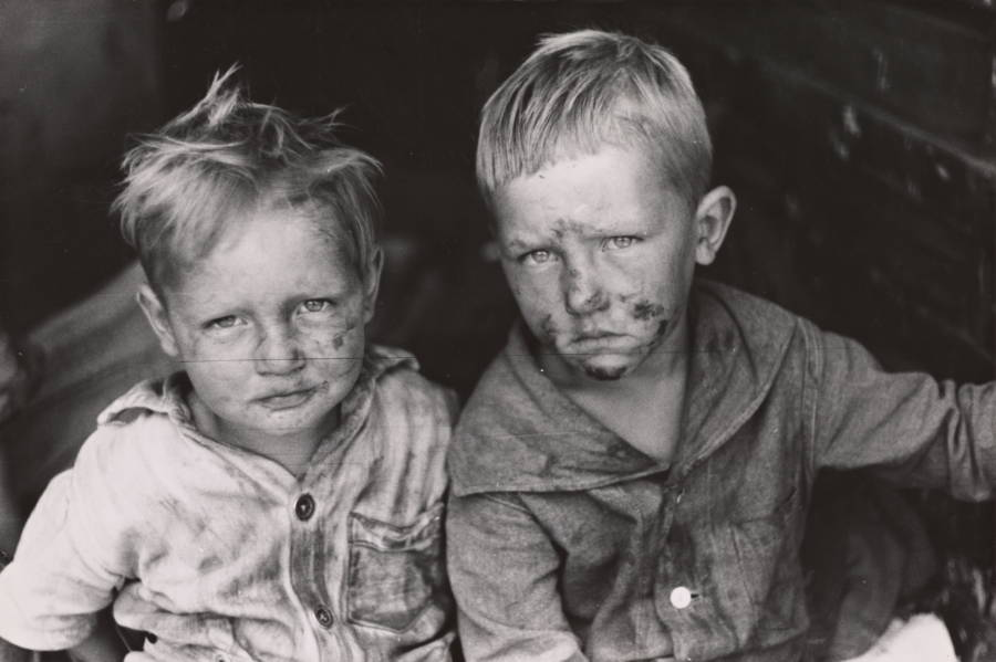 Children With Dirty Faces