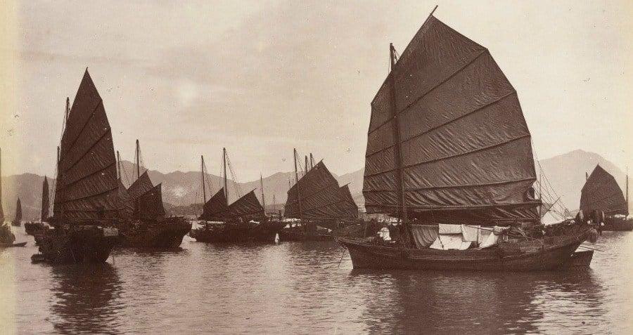 Chinese Pirate Ships