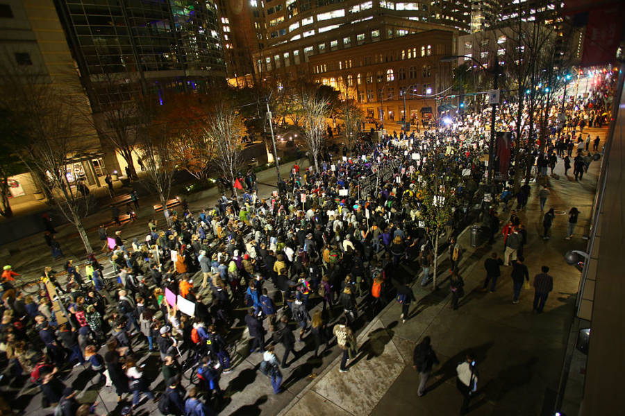 Donald Trump Protests 622093460
